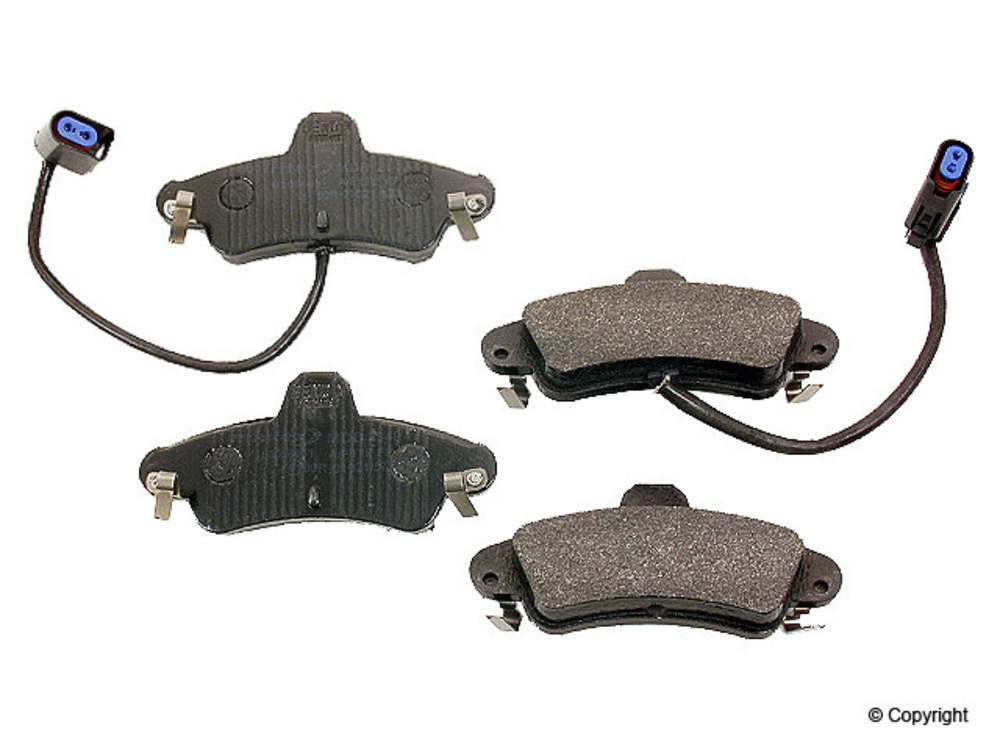 Mintex -  Disc Brake Pad Set (Rear) - WDX 520 08990 325