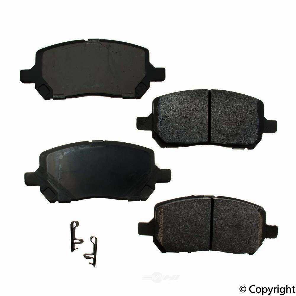 Original -  Performance Semi-Met Disc Brake Pad Set - WDX 520 09560 507