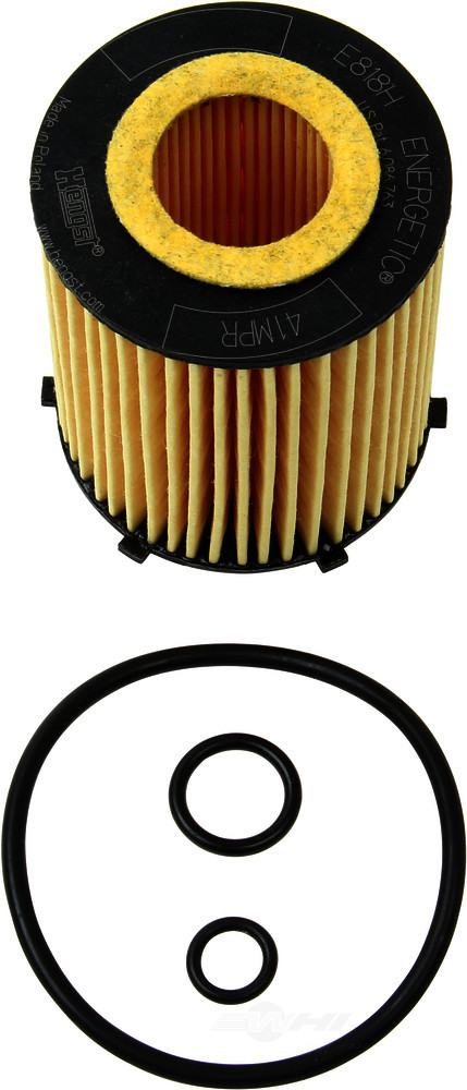 Hengst -  Engine Oil Filter - WDX 091 33042 045