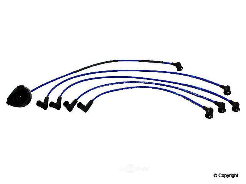 NGK -  Spark Plug Wire Set - WDX 737 21048 129