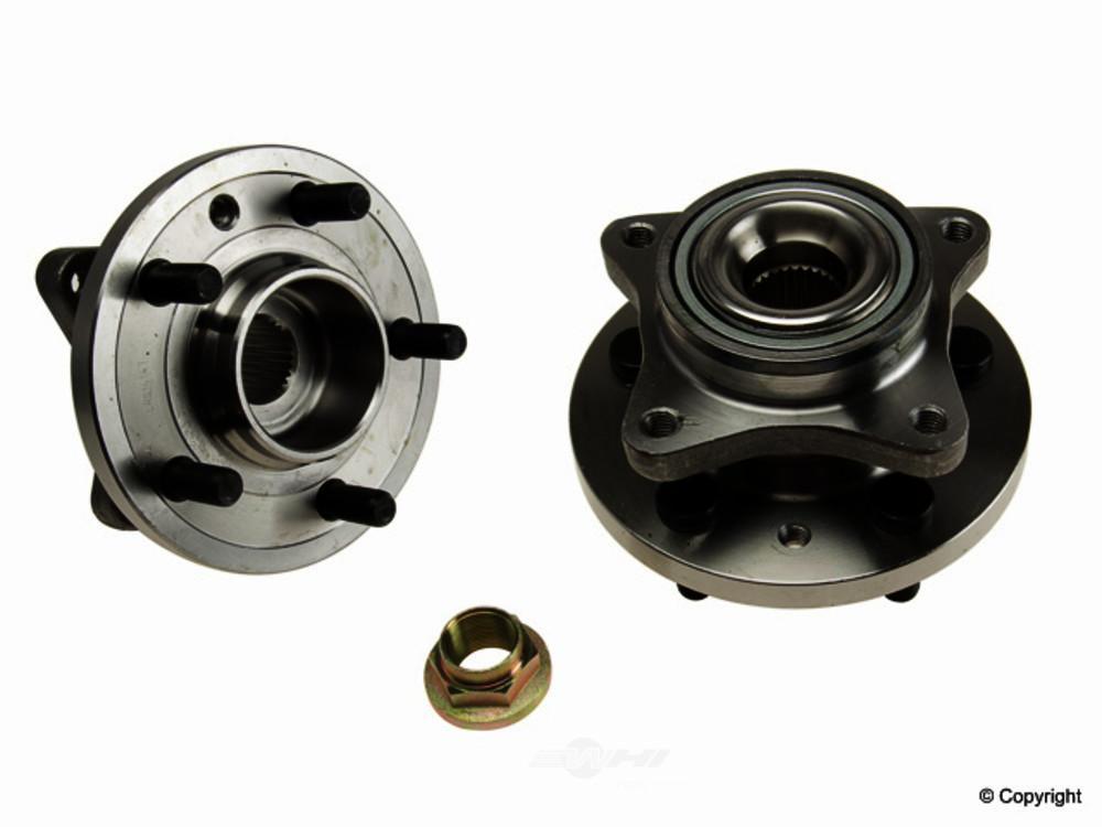Allmakes -  Axle Bearing and Hub Assembly - WDX 397 29007 538
