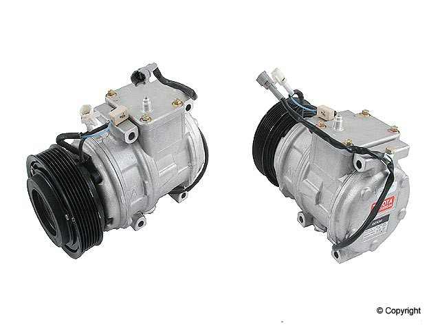 OE Supplier New - OE Supplier New A/C Compressor - WDX 656 26006 166