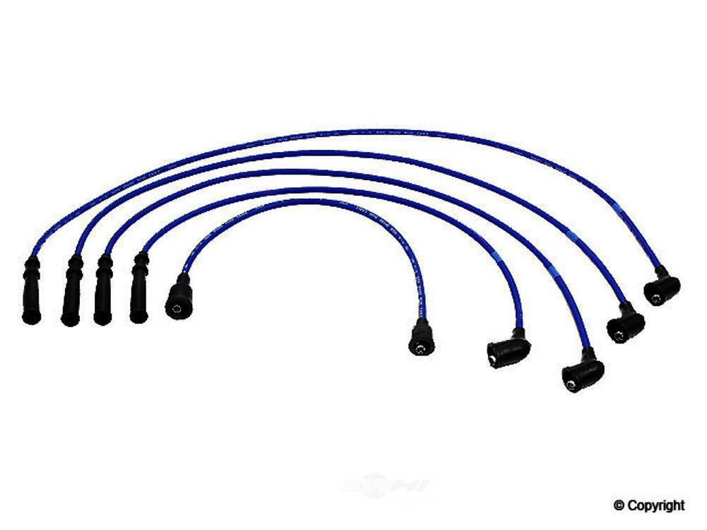 NGK -  Spark Plug Wire Set - WDX 737 37046 129