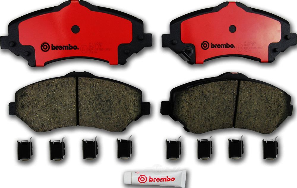 Brembo -  Disc Brake Pad Set - WDX 520 12731 253