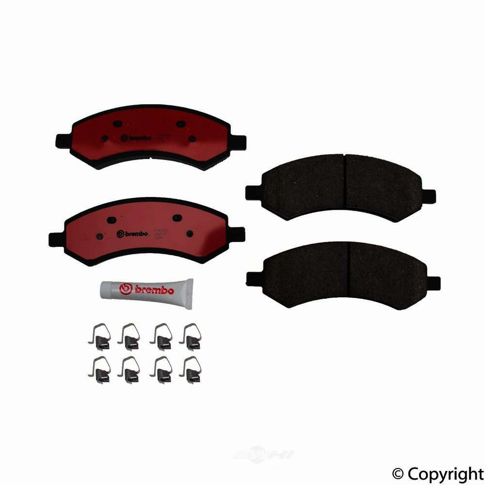 Brembo -  Disc Brake Pad Set - WDX 520 10840 253