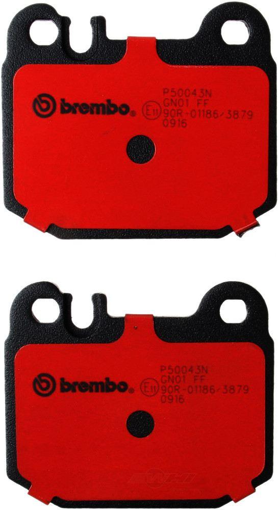 Brembo -  Disc Brake Pad Set - WDX 520 08740 253