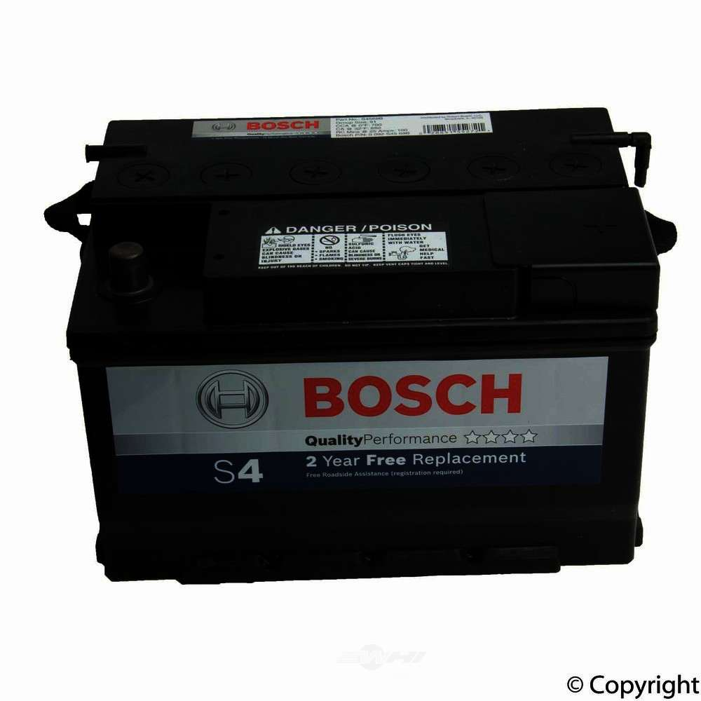 Bosch -  Quality Vehicle Battery - WDX 825 06091 461