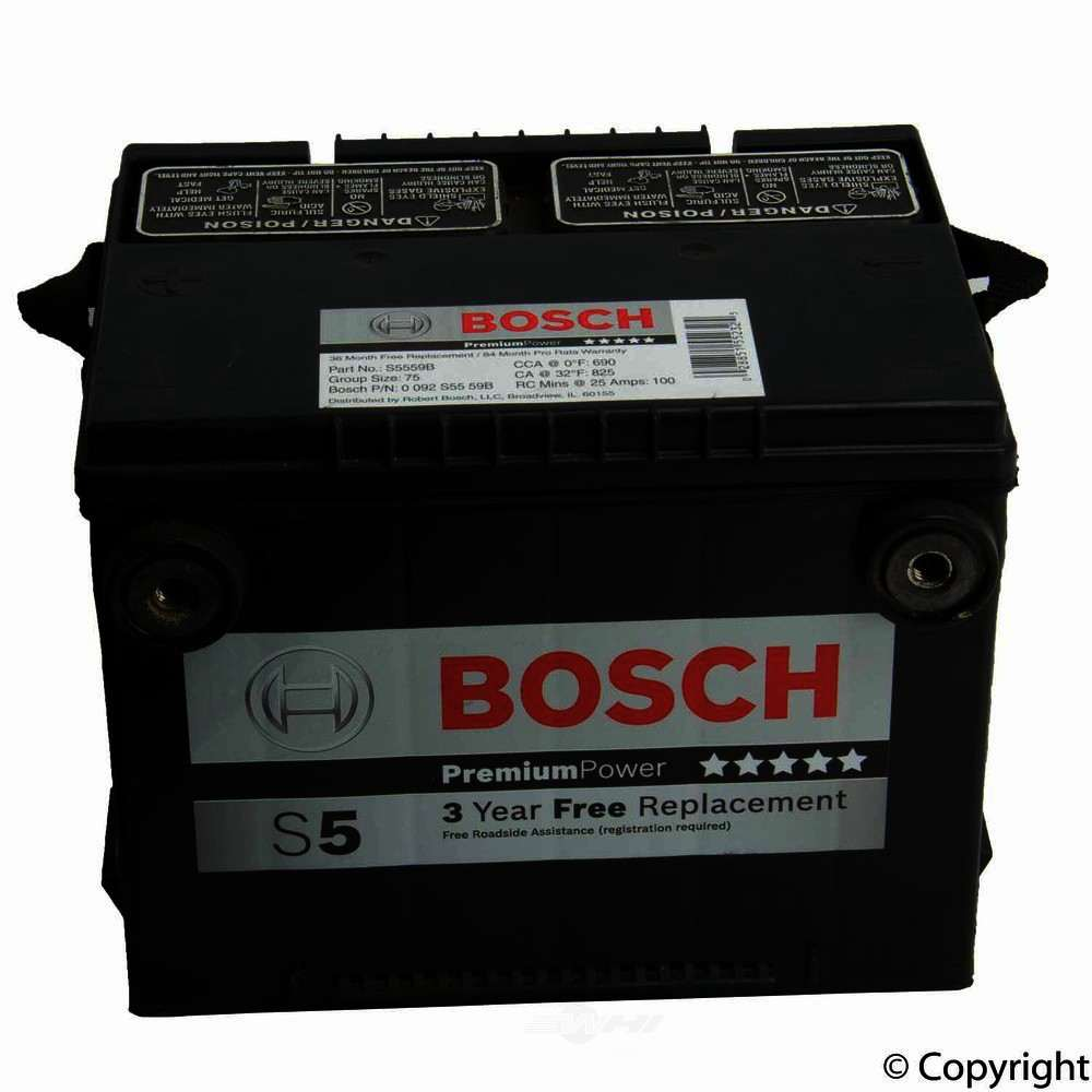 Bosch -  Premium Vehicle Battery - WDX 825 09075 460