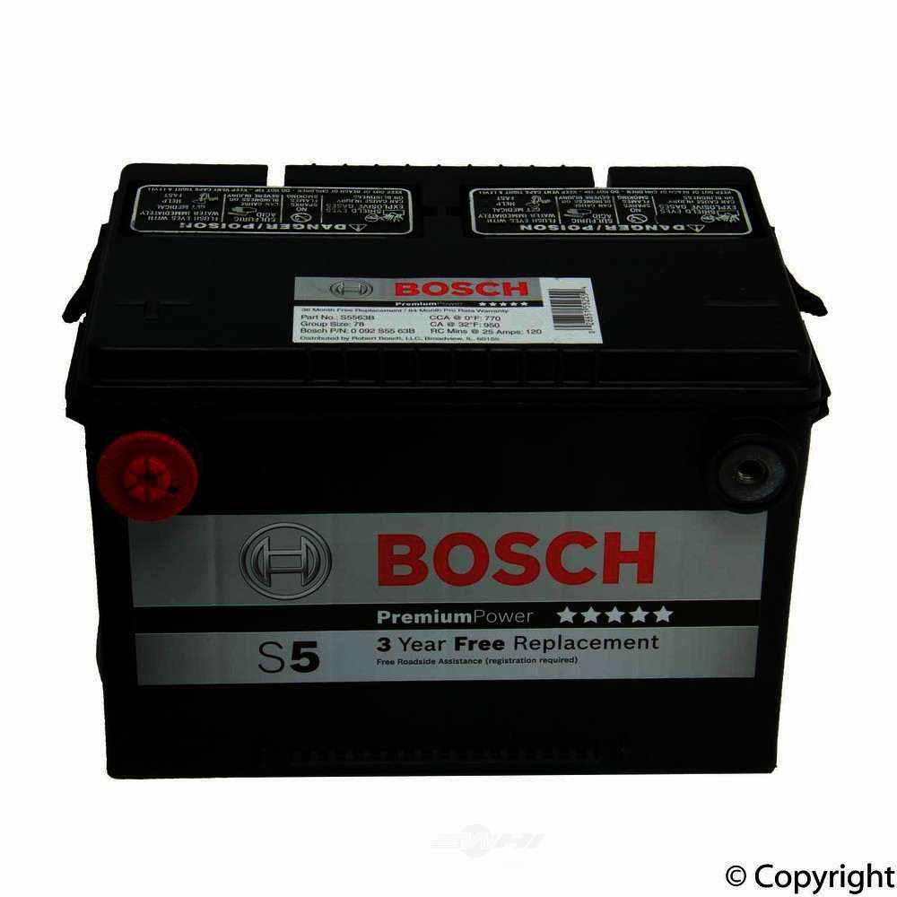 Bosch -  Premium Vehicle Battery - WDX 825 09078 460