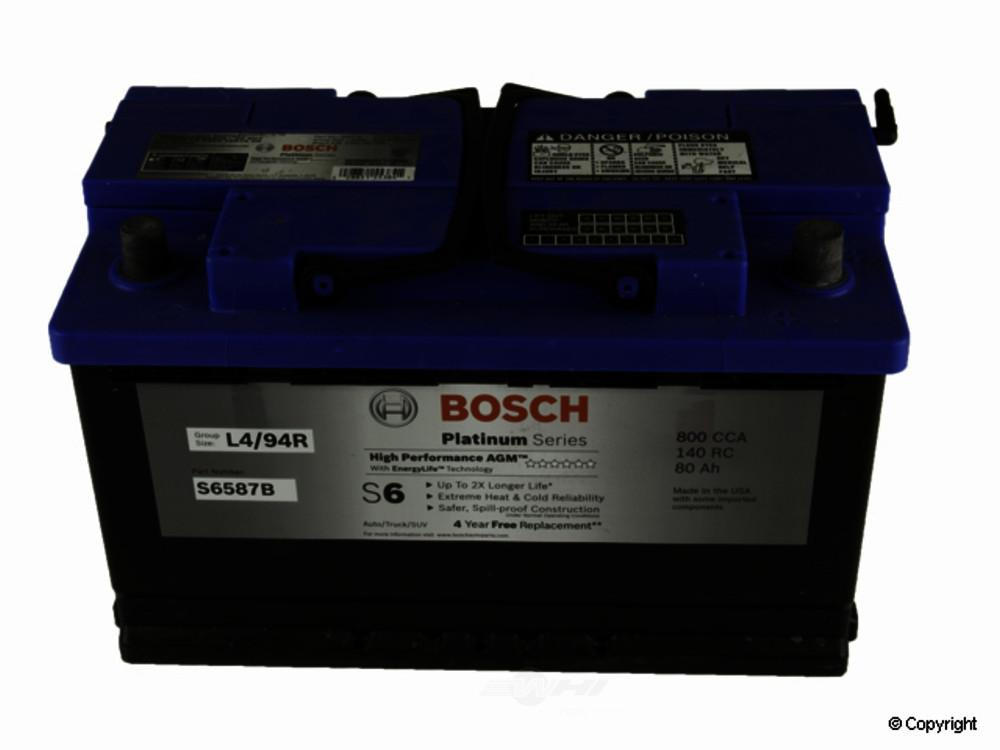 Bosch -  AGM Vehicle Battery - WDX 825 54007 459