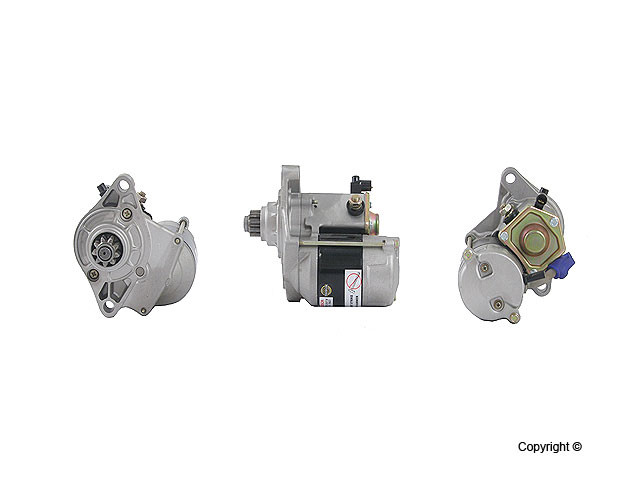 Bosch Reman - Bosch Remanufactured Starter Motor - WDX 703 01019 103