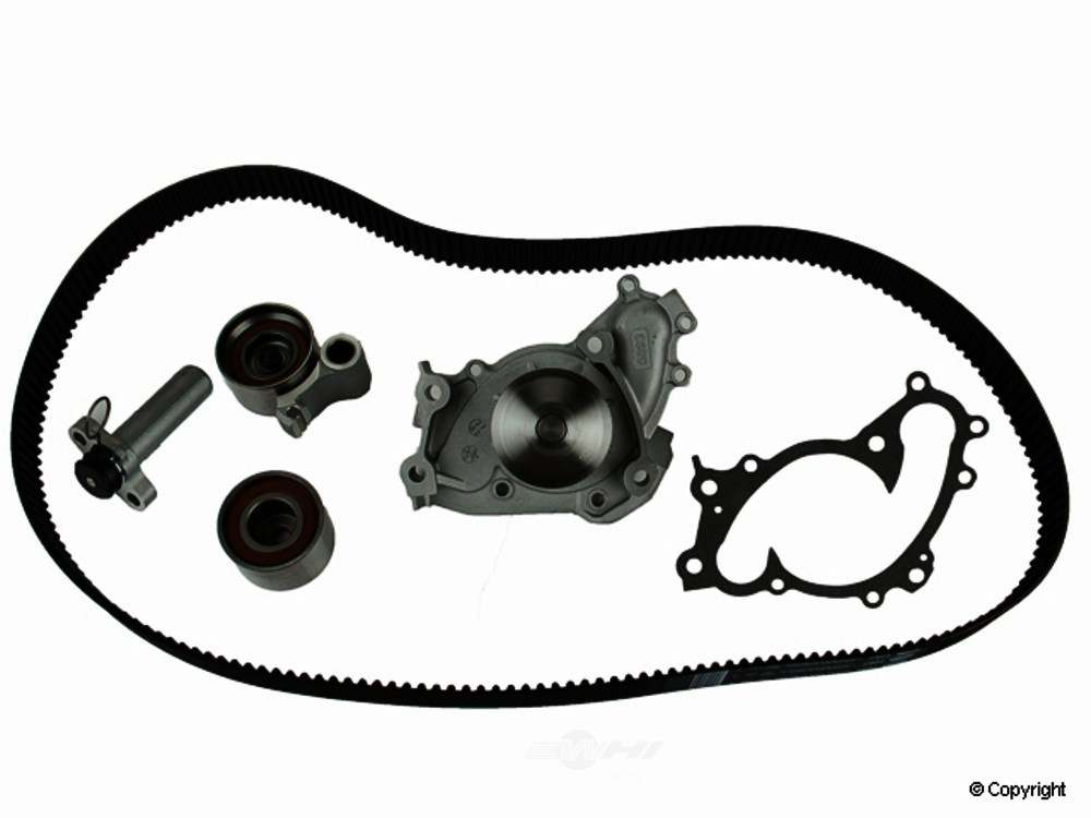 Gates -  Engine Timing Belt Kit with Water Pump Engine Timing Belt Kit with - WDX 077 51030 405
