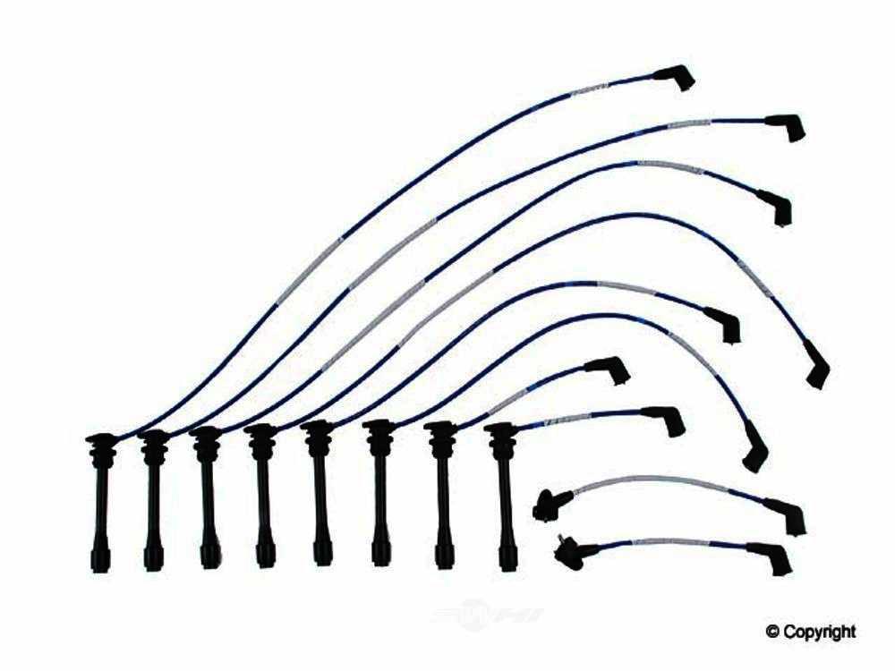 NGK -  Spark Plug Wire Set - WDX 737 30006 129
