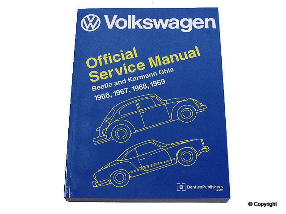 Bentley -  Repair Manual Repair Manual - WDX 989 54006 243
