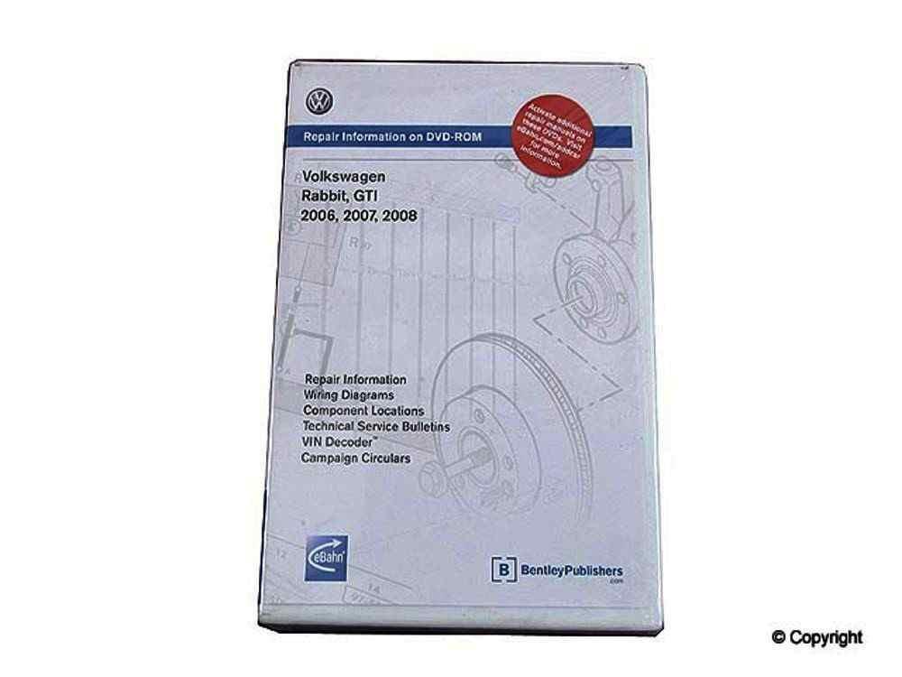 Bentley -  CD-ROM Repair Manual CD-ROM Repair Manual - WDX 989 54027 243