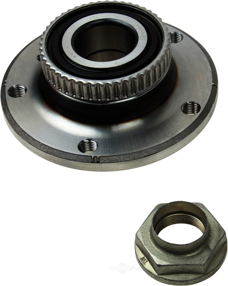 FAG -  Axle Bearing and Hub Assembly (Front) - WDX 397 06010 279