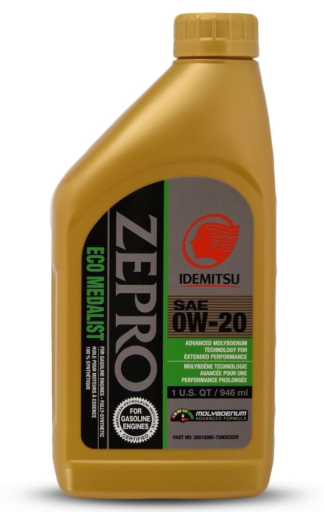 IDEMITSU - ZEPRO ECO MEDALIST ADVANCED MOLY 0W-20 - IMU 30010095-75000C020