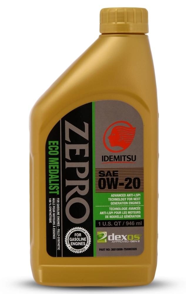 IDEMITSU - ZEPRO ECO MEDALIST dexos1 0W-20 - IMU 30010096-75000C020