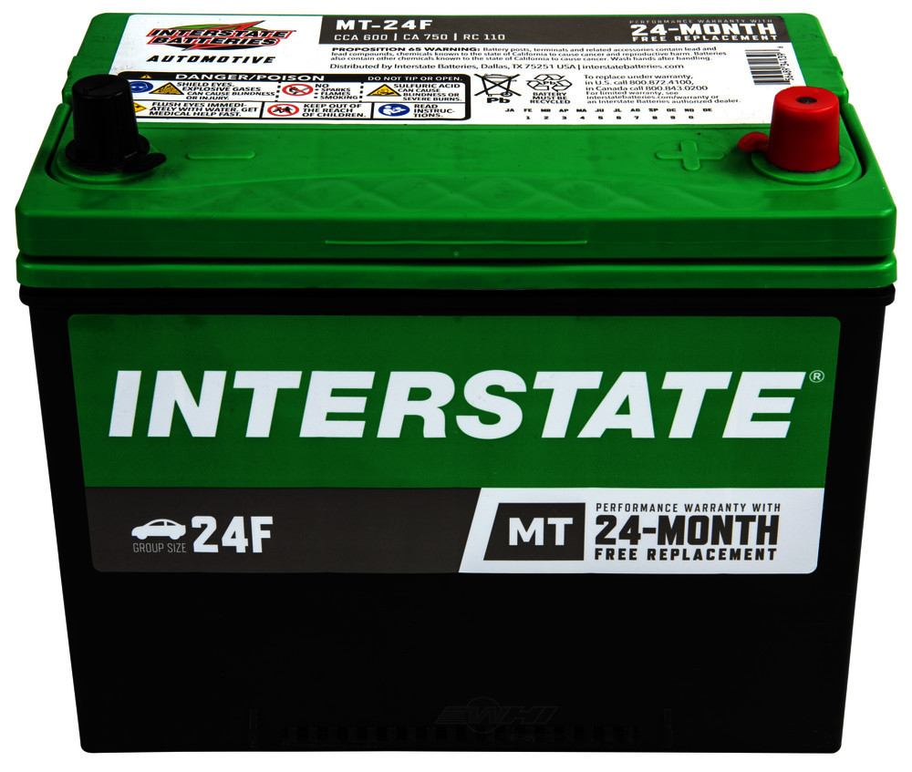 INTERSTATE - Mt Battery - INT MT-24F