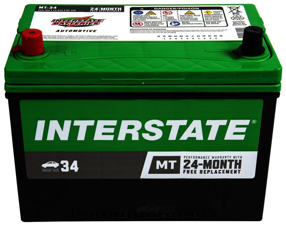 INTERSTATE - Megatron II Battery - INT MT-34