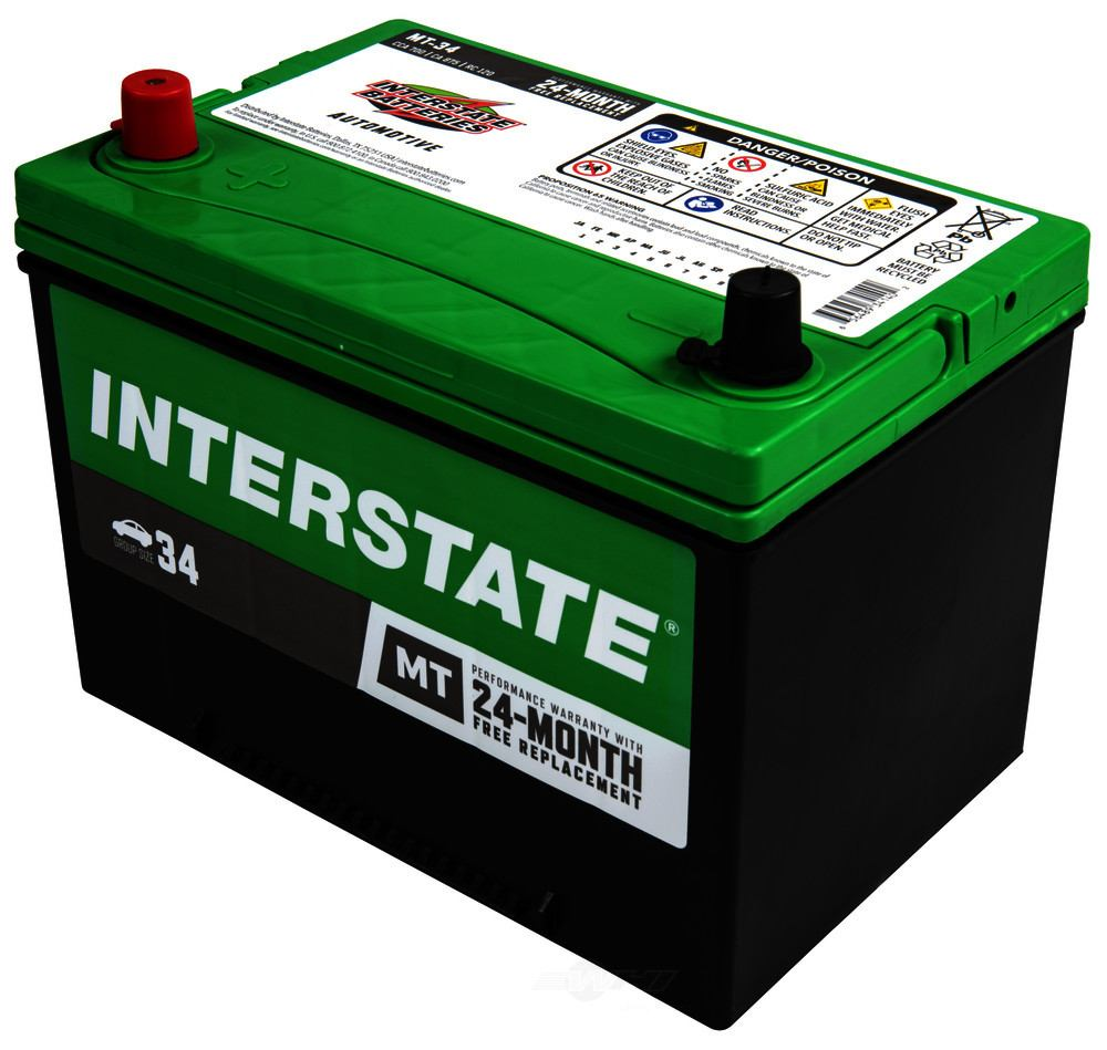 INTERSTATE - Vehicle Battery - INT MT-34