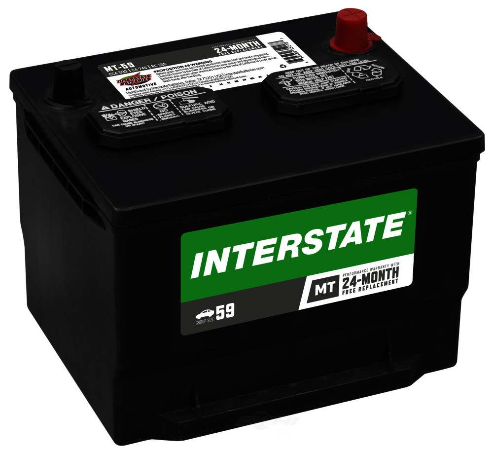 INTERSTATE - Vehicle Battery - INT MT-59