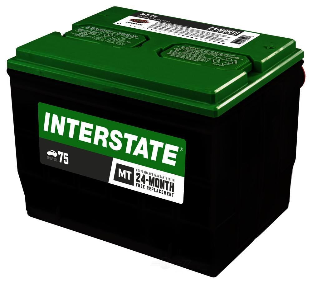 INTERSTATE - Vehicle Battery - INT MT-75