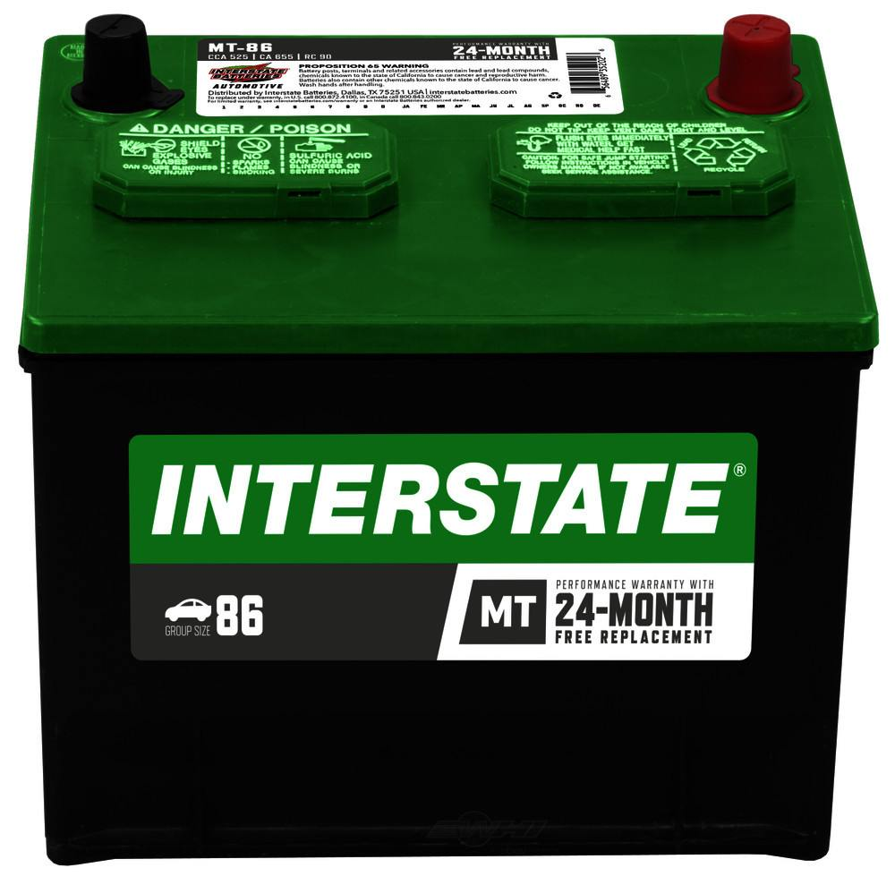 INTERSTATE - Good Battery - INT MT-86