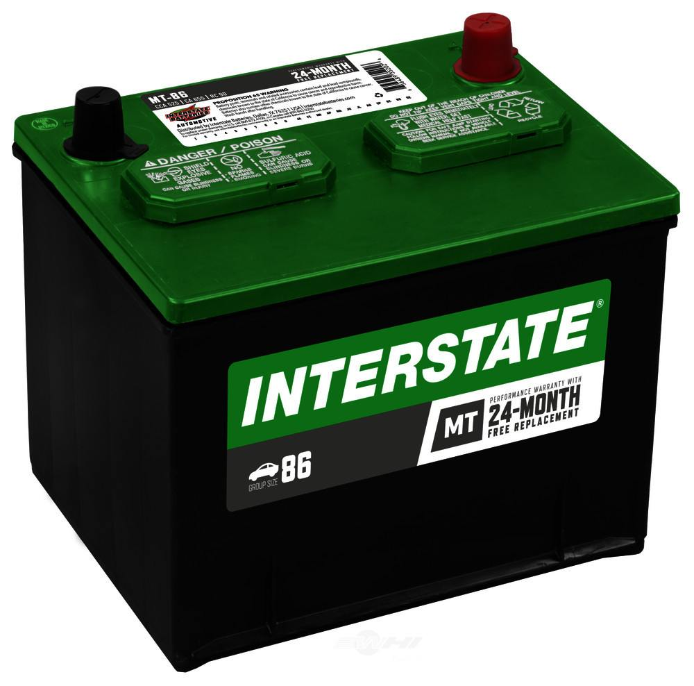 INTERSTATE - Vehicle Battery - INT MT-86