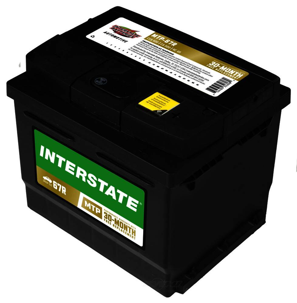 INTERSTATE - Vehicle Battery - INT MTP-67R