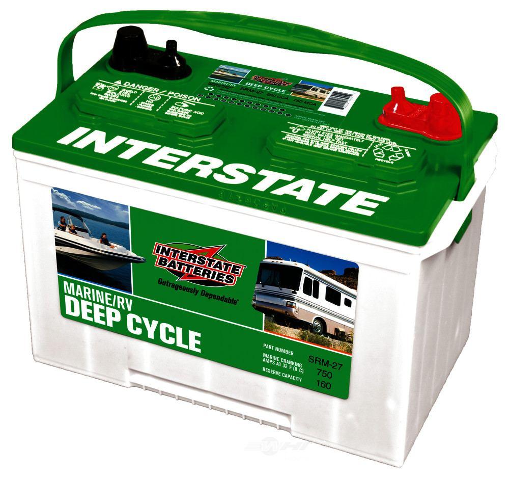 INTERSTATE - Vehicle Battery - INT SRM-27