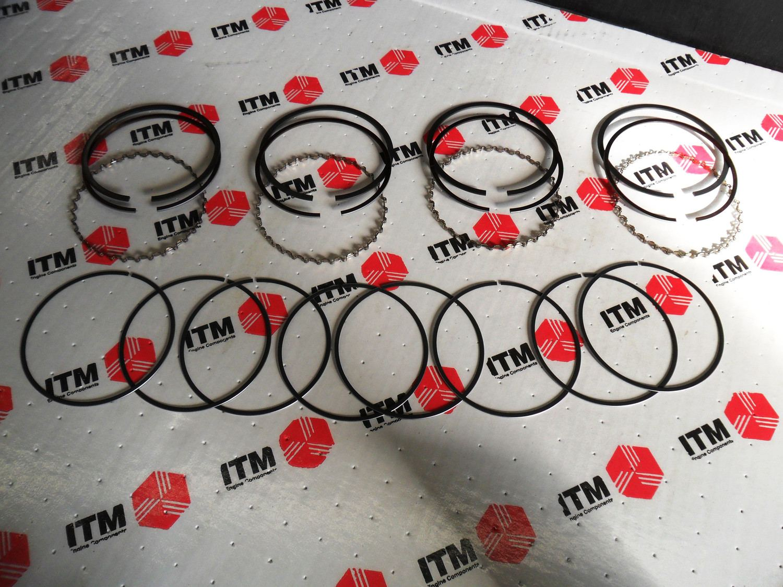 ITM - Engine Piston Ring Set - ITM 021-6202-STD