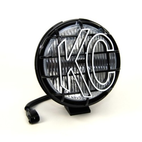 KC HILITES DRIVING LIGHT SYSTEMS - 6in Apollo Pro Replacement for Jeep Wrangler TJ(1997-2004) - Black(Fog B - KCH 1134