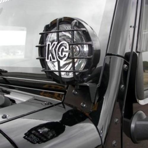KC HILITES DRIVING LIGHT SYSTEMS - Windshield A-Pillar Light Mount Brackets - KCH 7316