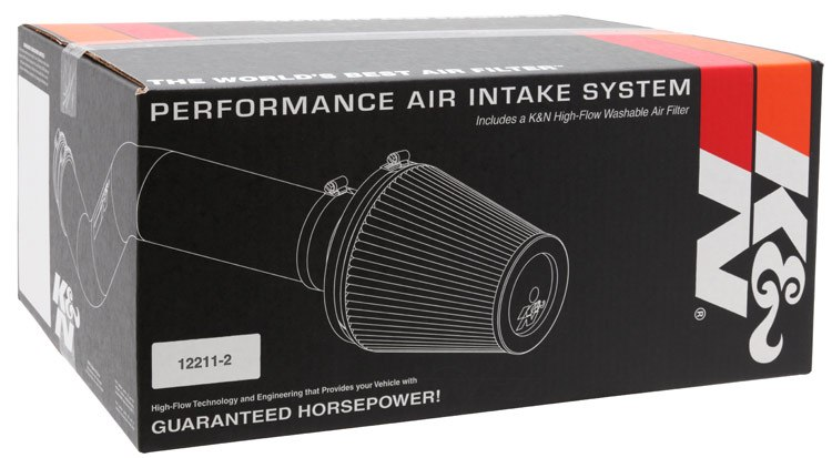 K&N FILTER - Air Intake Kit - KNN 69-0015TS