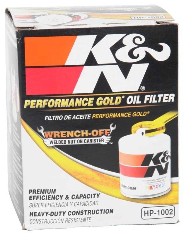 K&N FILTER - Engine Oil Filter - KNN HP-1002