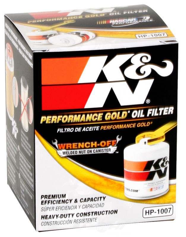 K&N FILTER - Engine Oil Filter - KNN HP-1007