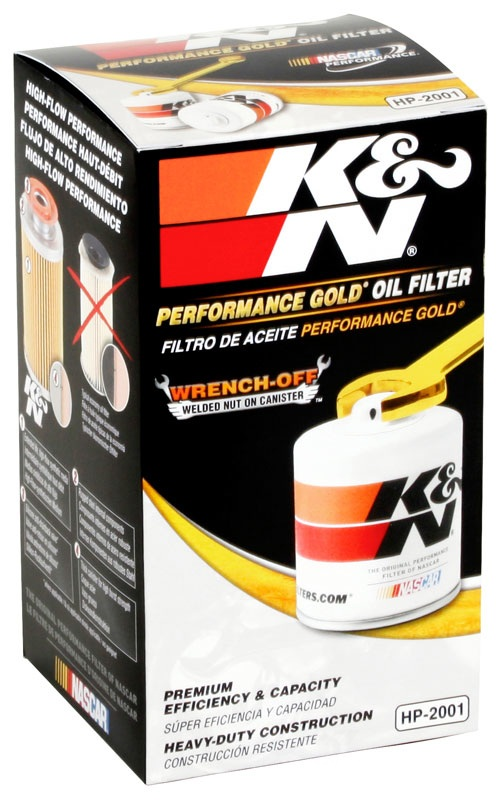 K&N FILTER - Engine Oil Filter - KNN HP-2001