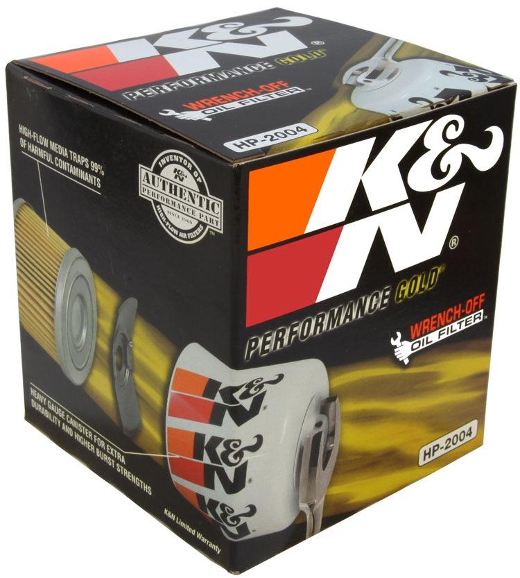 K&N FILTER - Engine Oil Filter - KNN HP-2004