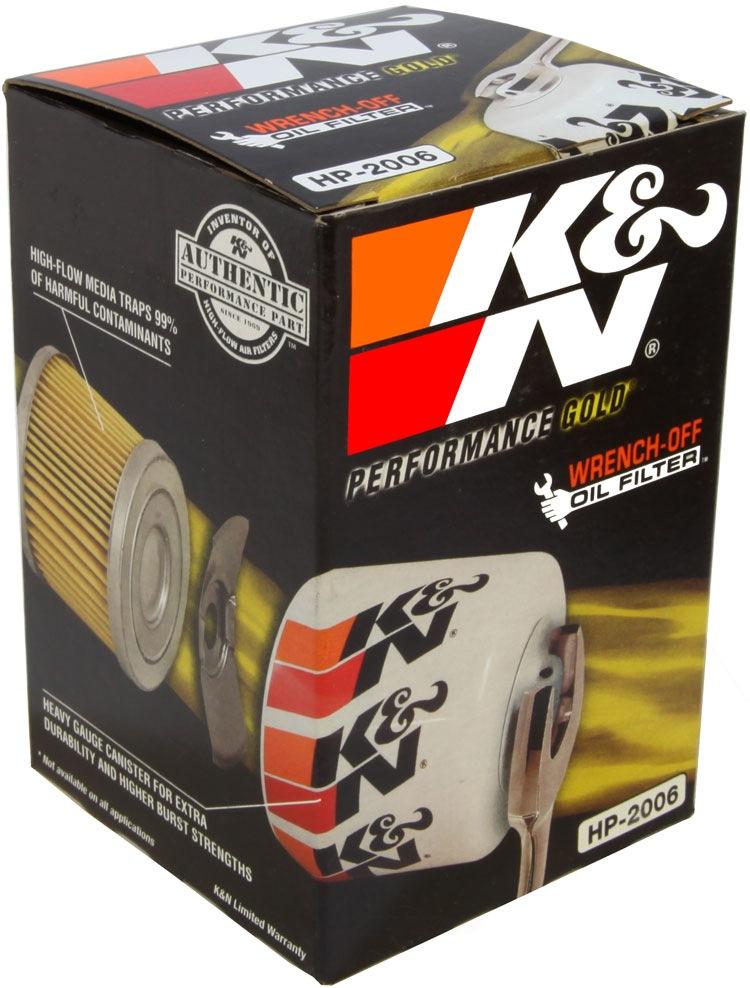 K&N FILTER - Engine Oil Filter - KNN HP-2006