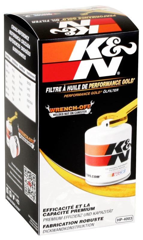 K&N FILTER - Engine Oil Filter - KNN HP-4003