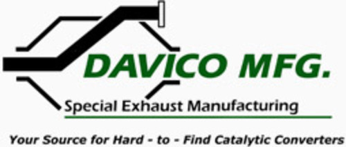 DAVICO MFG - Exact-Fit Catalytic Converter - DVM 17327