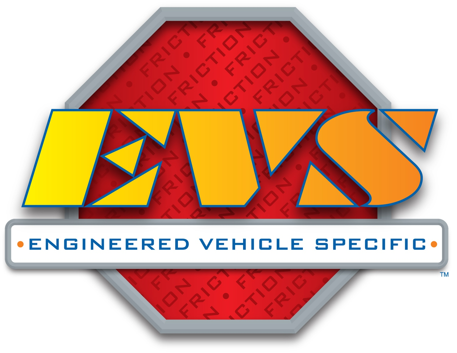 EVS FRICTION - EVS Friction Drum Brake Shoe (Rear) - FEV SBS747