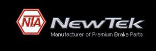NEWTEK AUTOMOTIVE - Velocity Plus Economy Semi-Metallic w/Shim Disc Pads (Front) - NWT SMD1156