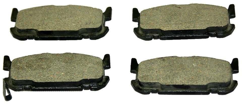 MONROE TOTAL SOLUTION BRAKE PADS - Monroe Total Solution Ceramic Brake Pads (Rear) - M91 CX1002