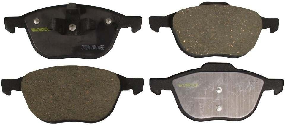 MONROE TOTAL SOLUTION BRAKE PADS - Monroe Total Solution Ceramic Brake Pads (Front) - M91 CX1044
