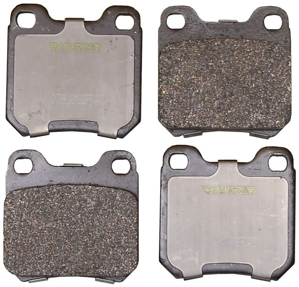 MONROE TOTAL SOLUTION BRAKE PADS - Monroe Total Solution Ceramic Brake Pads (Rear) - M91 CX709