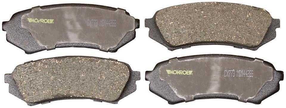 MONROE TOTAL SOLUTION BRAKE PADS - Monroe Total Solution Ceramic Brake Pads - M91 CX773