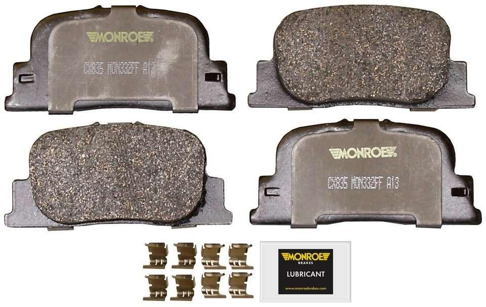 MONROE TOTAL SOLUTION BRAKE PADS - Monroe Total Solution Ceramic Brake Pads - M91 CX835