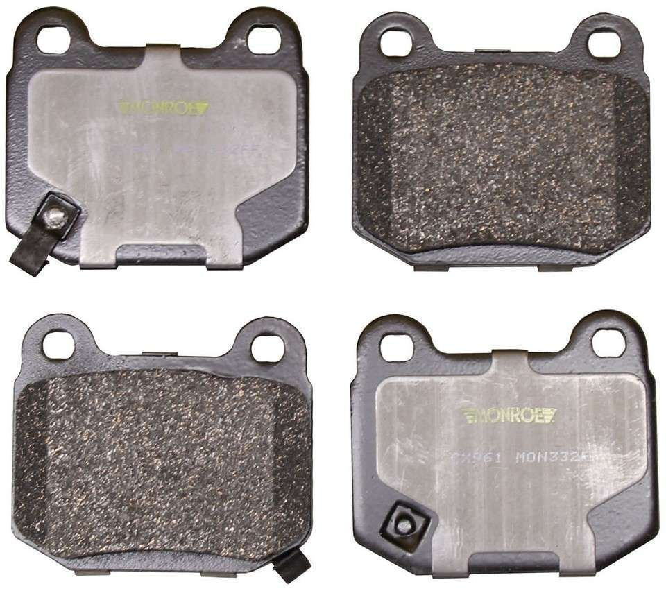 MONROE TOTAL SOLUTION BRAKE PADS - Monroe Total Solution Ceramic Brake Pads (Rear) - M91 CX961